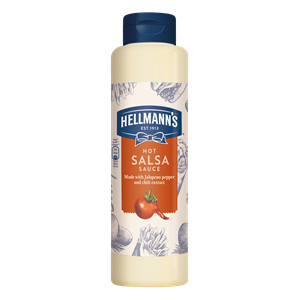 HELLMANN`S SALSA HOT SZÓSZ FLAKONOS 850 ML